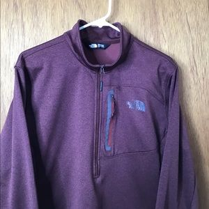 The north face full zip sweater jacket men's large